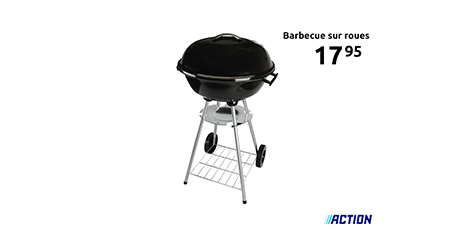 Les Armoiries Shopping Bon Plan Action, barbecue
