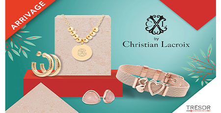 Maison Christian Lacroix chez Trésor bijoux Terre Ciel Chelles