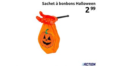 sac de bonbons Halloween, Action, bon plan, bry sur marne, les armoiries shopping