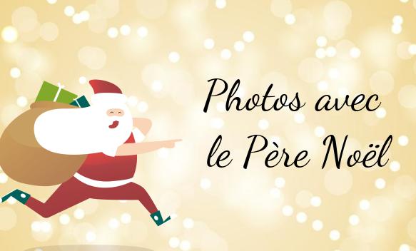 Photos avec le père Noël à Bercy 2 à charenton le pont