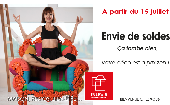 Soldes à Buld'air Shopping
