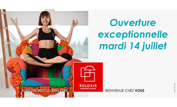 Ouverture exceptionnelle Buld'air Shopping à Avignon