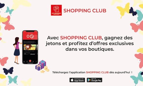 Programme de fidélité Les Armoiries Shopping