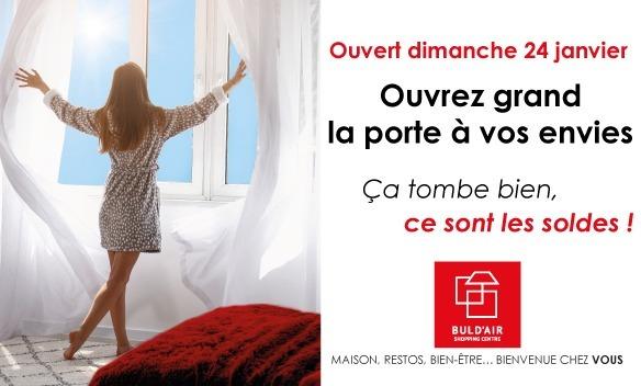 Soldes Hiver Buld'air Shopping Vedène Avignon