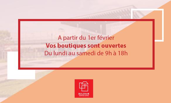 Acutalités Buld'air Shopping Vedène Avignon