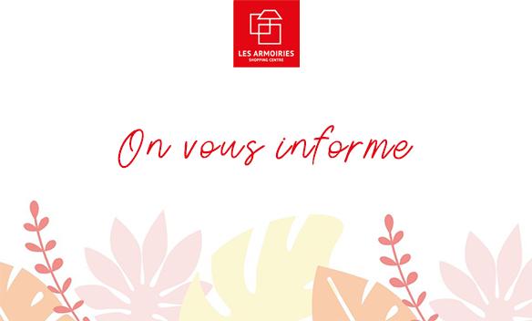 Fermeture Armoiries Shopping Bry sur Marne