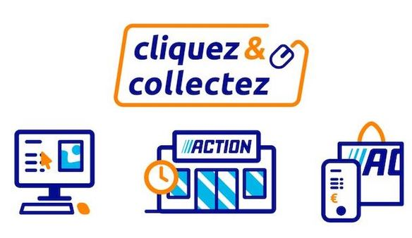 Action Click & Collect Armoiries Shopping Bry sur Marne