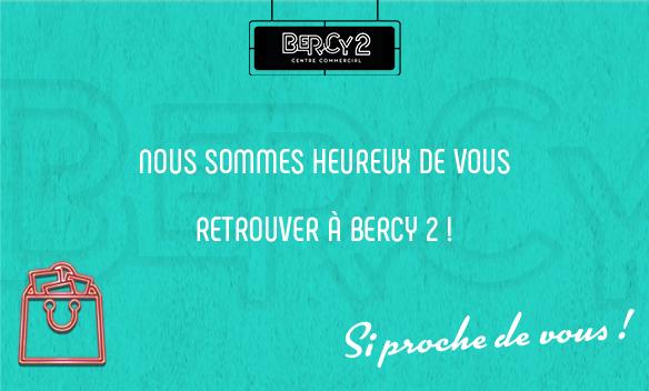 Réouverture Bercy 2 Charenton le pont