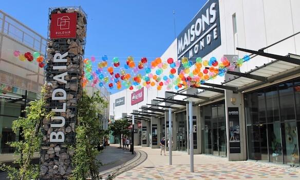 Buld'air Shopping Avignon Vedène actualité décorations été