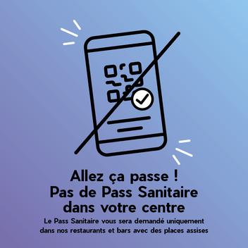 Pass Sanitaire pour les restaurants de votre centre