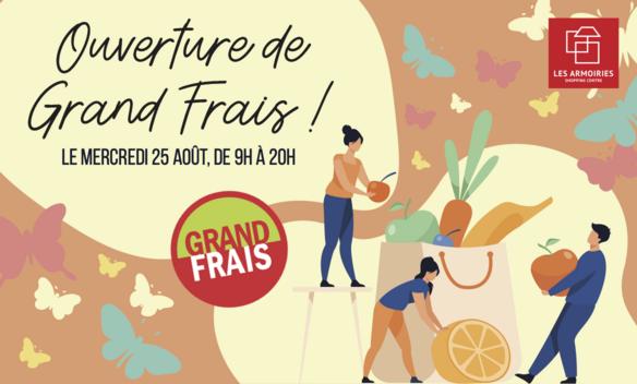 Ouverture Grand Frais Les Armoiries Shopping Bry sur Marne