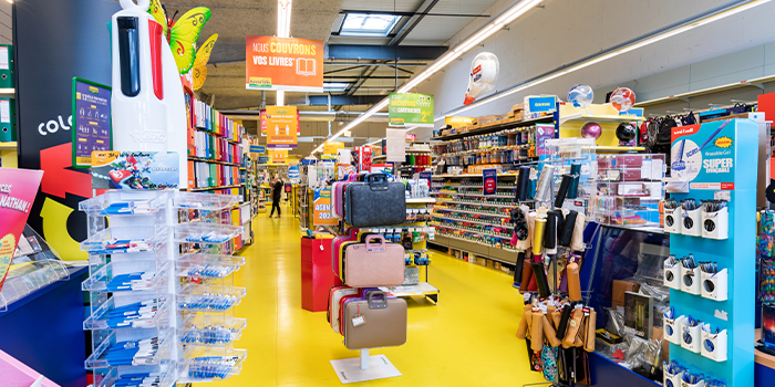 bureau vallée metz metzanine shopping fournitures papeterie