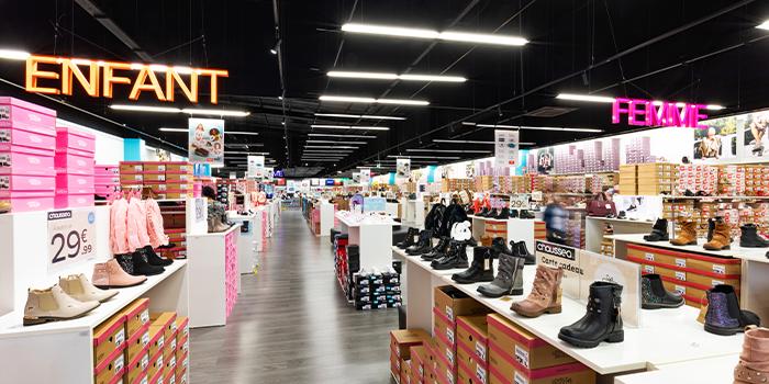 chausséa metz metzanine shopping chaussures mode