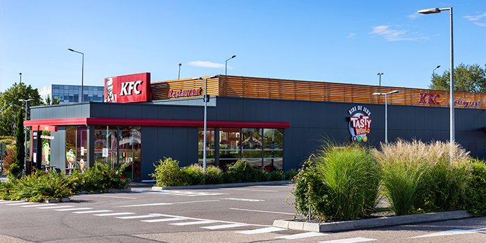 KFC metz metzanine food restaurant shopping