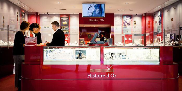 histoire d'or bijouterie centre commercial Grand Quetigny Dijon