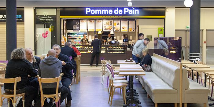 Pomme de Pain restaurant centre commercial Bercy 2