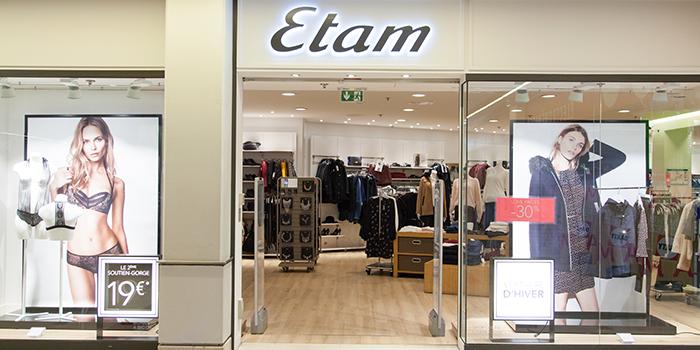 etam mode femme centre commercial Bercy 2
