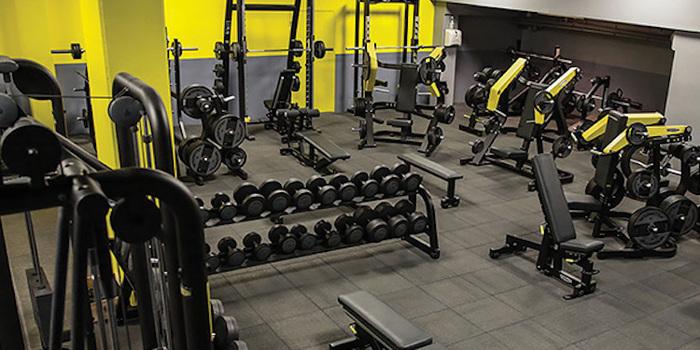 Salle de remise en forme Fitness Park centre commercial Maison Plus à Hénin Beaumont