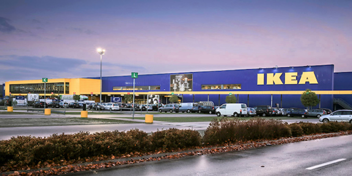 Magasin Ikea au centre commercial Maison Plus à Hénin Beaumont