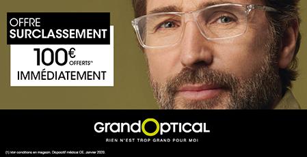 GrandOptical, surclassement, bon plan, promotion, centre commercial, Bercy 2, Bercy, Charenton le Pont, Charenton