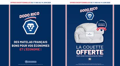 Votre boutique Le Roi du Matelas vous propose sa nouvelle offre DODO RICO !Des matelas Français b...