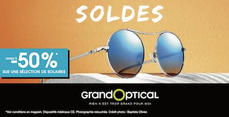 Grand Optical bercy 2 centre commercial Shopping soldes été Vision lunettes solaires charenton le pont