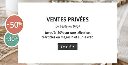 buld'air bons plans ventes privées maisons du monde