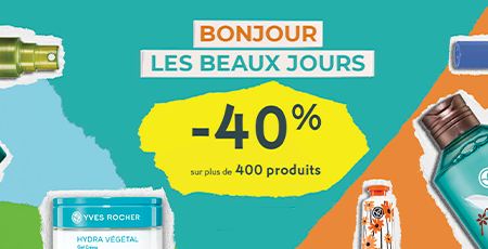 Les Armoiries Shopping Bon Plan, Yves Rochers, beauté, soins