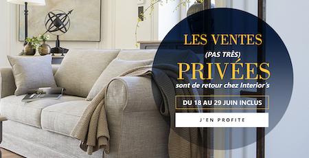 Interior's Ventes privées Buld'air Shopping Vedène Avignon