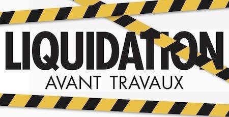 Liquidation avant travaux chez Home Salons Buld'air Shopping Vedène décoration canapé